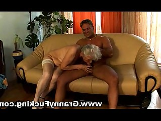Blowjob Big Cock Fuck Granny Hairy Mature Pussy Stocking
