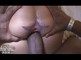 Creampie Interracial Tattoo Wife