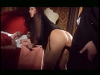 18-21 Anal Big Tits Blowjob Brunette Lingerie Natural Stocking
