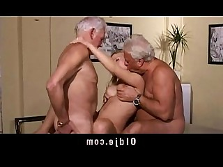 Blonde Cumshot Doggy Style Double Penetration Fuck Granny Group Sex Hot