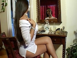 Angel Ass Big Tits Boss Brunette Dress Fingering Innocent