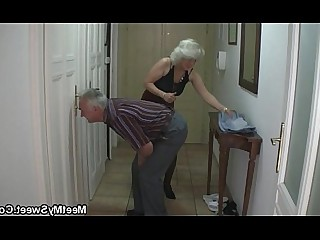 BDSM Double Penetration Fuck Girlfriend Granny Mature MILF Old and Young