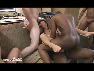 Black Interracial Kitty Orgy Pornstar