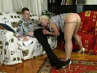 Granny Horny Mature Seduced