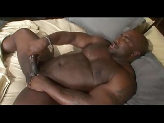 Black Big Cock Hot Huge Cock Jerking Masturbation Solo