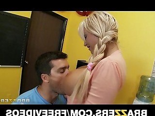 Babe Big Tits Blonde Blowjob Boobs Bus Busty Classroom