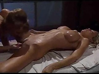 Big Tits Blonde Fingering Lesbian Licking Oil Pussy