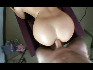 Angel Blonde Blowjob Doggy Style POV