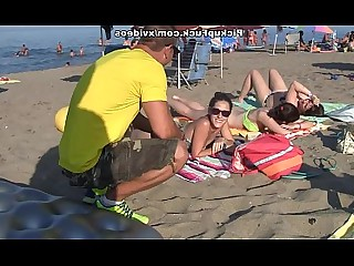 Amateur Beach Fuck Outdoor Public Really